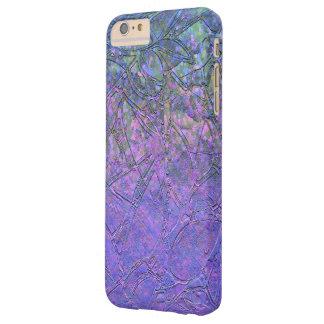 iPhone 6 Plus Case Sparkley Grunge Floral Relief