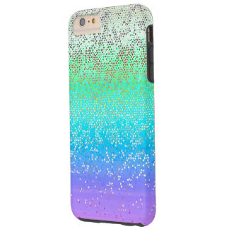 iPhone 6 Plus Case Tough Glitter Star Dust