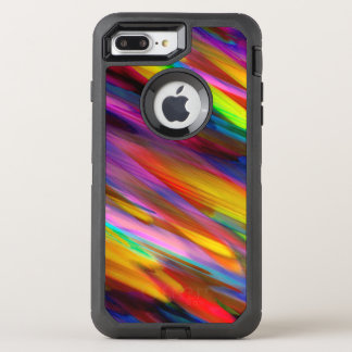 iPhone 6 Plus Colorful digital art splashing OtterBox Defender iPhone 7 Plus Case