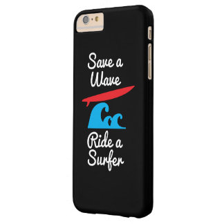 iPhone 6 Plus Cover Case - Rider a Surfer Barely There iPhone 6 Plus Case