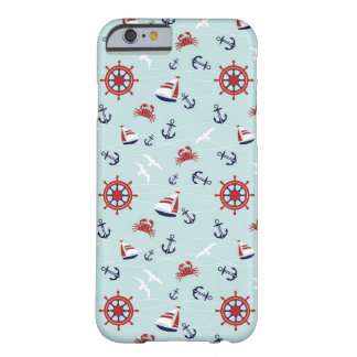 iPhone 6, Seamless Sailing Ship pattern Case Barely There iPhone 6 Case