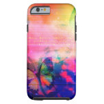 iPhone 6 'Tough' Butterfly and Flower Case Tough iPhone 6 Case