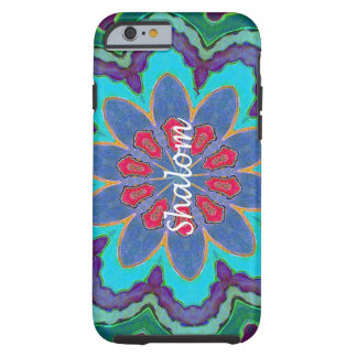 iPhone 6 Vibe Shalom Mandala Tough iPhone 6 Case