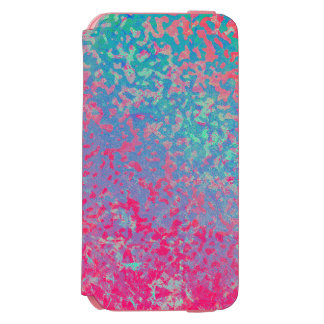 iPhone 6 Wallet Case Colorful Corroded Background Incipio Watson™ iPhone 6 Wallet Case