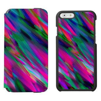 iPhone 6 Wallet Case Colorful digitalart splashing Incipio Watson™ iPhone 6 Wallet Case