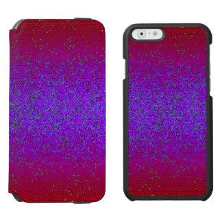 iPhone 6 Wallet Case Glitter Star Dust Incipio Watson™ iPhone 6 Wallet Case