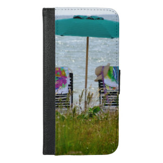 iPhone 6 wallet cover - Beach View