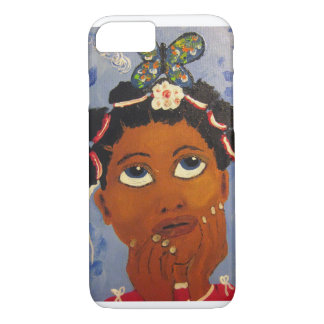 iPhone 7 African American Black Art case cover art