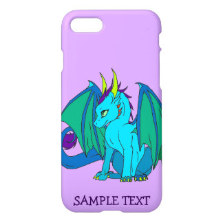 iPhone 7 Baby Dragon Change the Background Color iPhone 8/7 Case