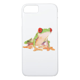 iPhone 7, Barely Red-eyed tree frog iPhone 7 Case
