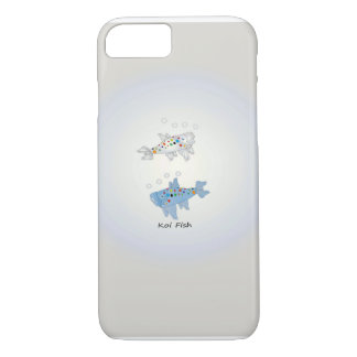 iPhone 7, Barely There With Opal Koi Fish iPhone 7 Case