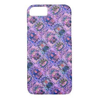 iPhone 7 Boyfriend Pink Hamsa cell II iPhone 7 Case