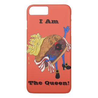 """iPhone 7 """"Burger Bernice, Queen!"""" Case. iPhone 7 Plus Case"""