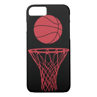 iPhone 7 case Basketball Silhouette Bulls Black