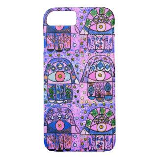 iPhone 7 case Boyfriend Pink Hamsa cell II
