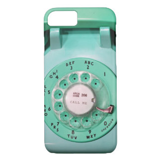 iPhone 7 case - call me rotary dial phone