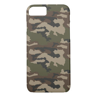 Iphone 7 case Camouflage french centre europe