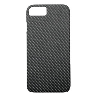 iPhone 7 case - Carbon Fiber - Metallic Black