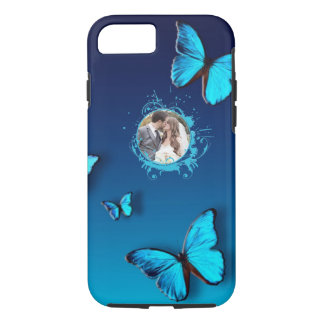 Iphone 7 Case Circle Personal Photo