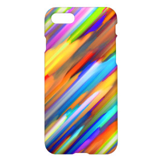 iPhone 7 Case Colorful digital art splashing G391