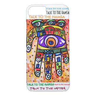 iPhone 7 case Coral City Hamsa cell