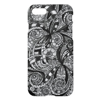 iPhone 7 Case Drawing Floral