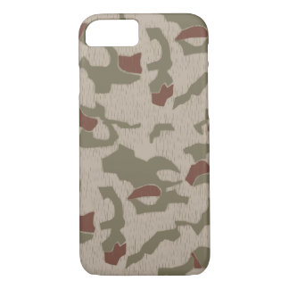 Iphone 7 case East German Camouflage BGS