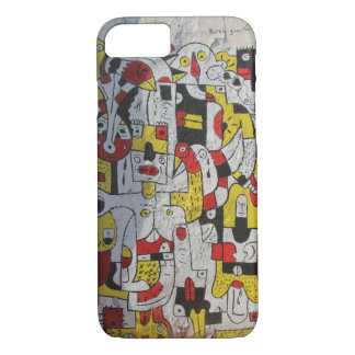 iphone 7 case featuring street art from Tel Aviv