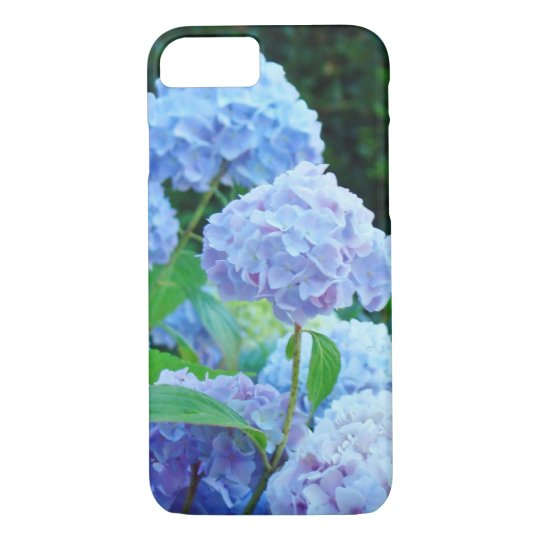 iPhone 7 case floral cell phone covers Blue