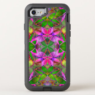 iPhone 7 Case Floral Fractal Art