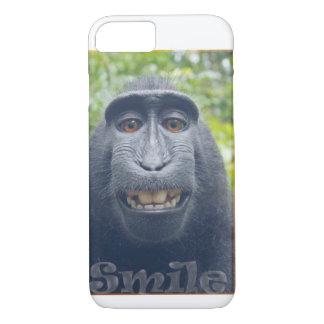 Iphone 7 Case Funny Monkey