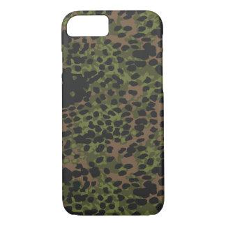 Iphone 7 case German WWII Camouflage Platanentarn