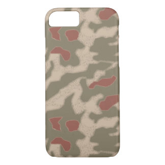 Iphone 7 case German WWII Camouflage sumpfmuster44