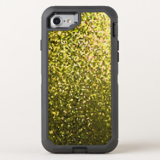 iPhone 7 Case Gold Mosaic Sparkley Texture