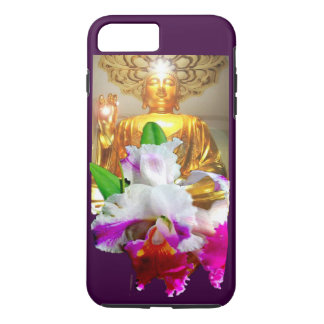 iPhone 7 CASE-GOLDEN BUDDHA WITH ORCHID iPhone 7 Plus Case