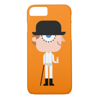 iPhone 7 Case: Halloween Orange Guy With Hat iPhone 8/7 Case