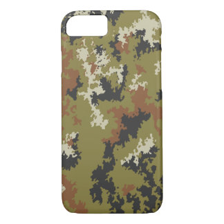 Iphone 7 case Italian Camouflage Vegetato Woodland