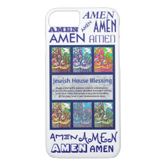 iPhone 7 case Jewish House Blessing Amen Cell