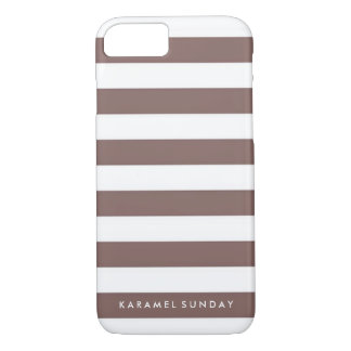 iPhone 7 Case - KS Signature Nautical Brown