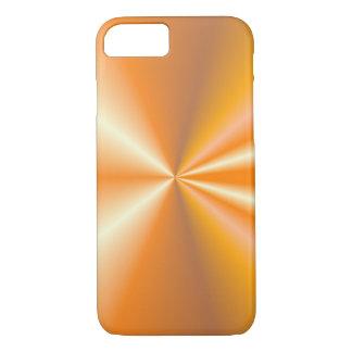 iPhone 7 case modern shining orange