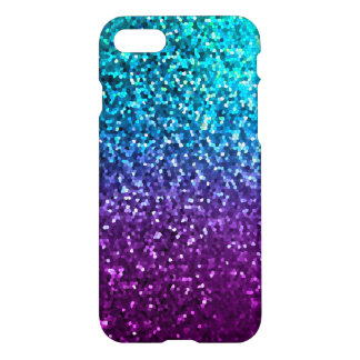 iPhone 7 Case Mosaic Sparkley Texture