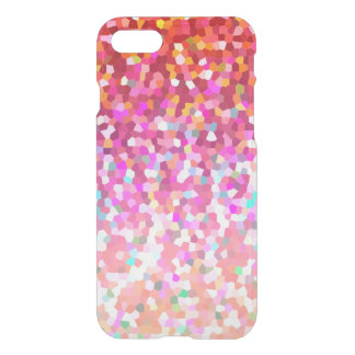 iPhone 7 Case Mosaic Sparkley Texture