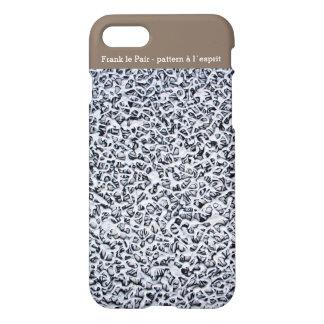 iPhone 7 case - pattern à l´esprit - Frank le Pair