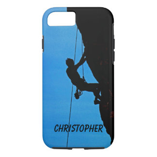 iPhone 7 Case Personalized, Rock Climber