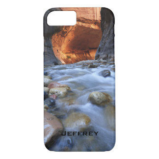 iPhone 7 Case, Personalized, Zion Narrows iPhone 7 Case