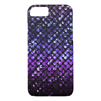 iPhone 7 Case Purple Crystal Bling Strass