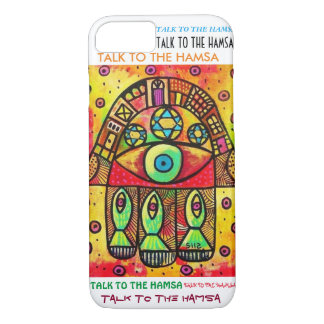 iPhone 7 case Sea Of Galilee Hamsa cell