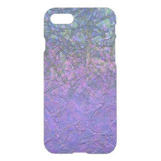 iPhone 7 Case Sparkley Grunge Floral Relief