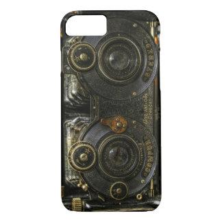 iPhone 7 case Steam Punk Old School Camera Case Ce