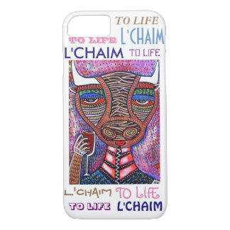 iPhone 7 case To Life L'Chaim Noak's Ark Bull Cell